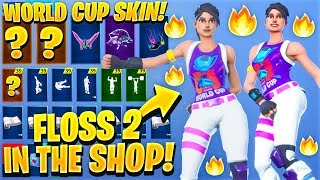 "*NEW* Leaked ""World Warrior"" World Cup Skin Showcase With All Leaked Fortnite Emotes..! (RARE)"