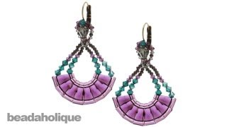 How to Make the Decadent Deco Earrings