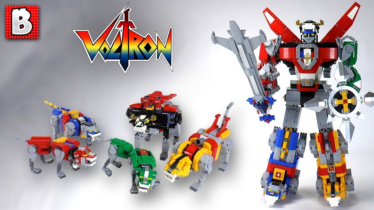 LEGO Voltron Defender Of The Universe Review Set 21311