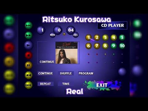 Ritsuko Kurosawa (黒沢律子) - Real (but you're listening to the album on a PlayStation 1!)