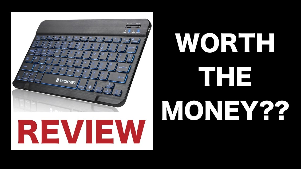 6c78c94cb97 Tecknet PS4 Compatible Bluetooth Keyboard Review - Worth The Money ...