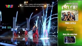 vietnams got talent 2012 - ban ket 2 - nhom free style - ms4