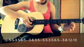 """Разбор песни на гитаре из сериала """"Кухня"""""""