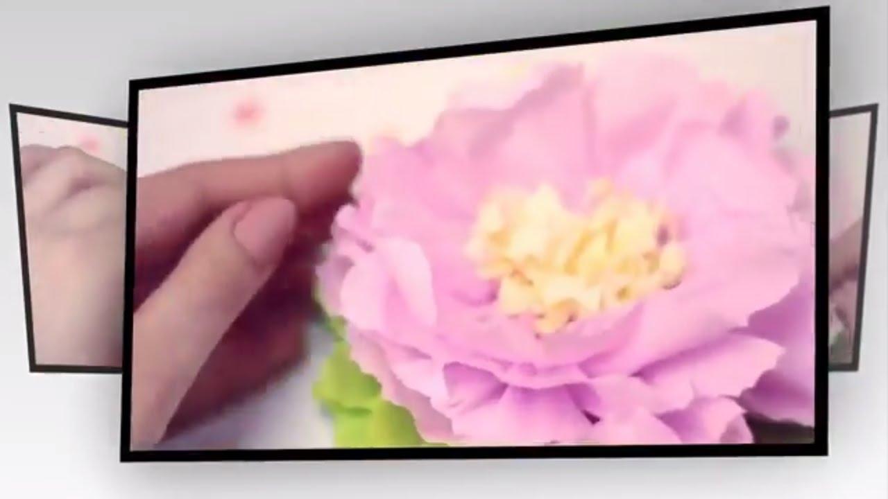 Tissue Paper Flower Decoration Ideas Vaydileforic