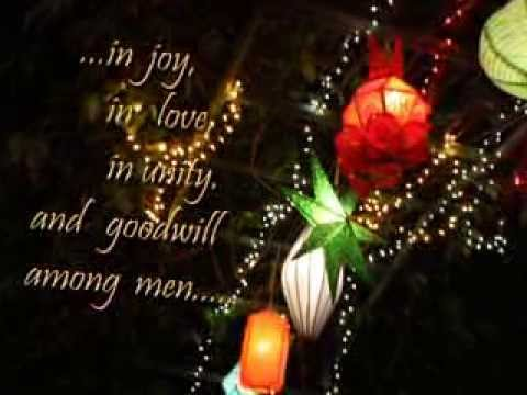 my christmas greetings to all my friends family and love ones youtube