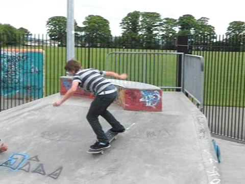 Slowmotion Skateboarding Lucan Skatepark Ireland Youtube