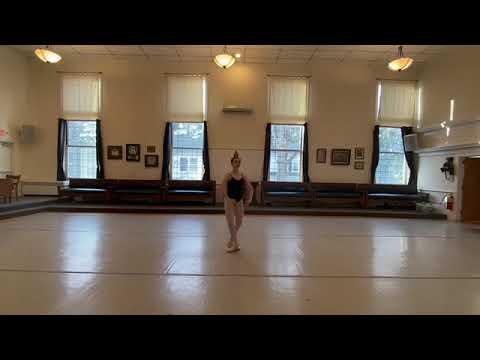 Anna Grzymski Bolshoi Audition
