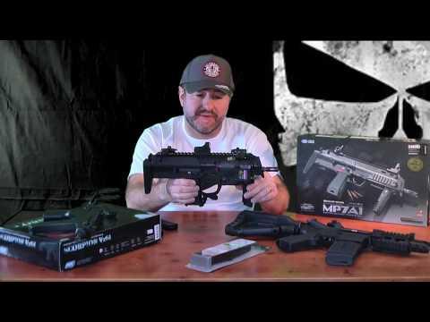 Richy's Top CQB Airsoft Guns Part 3 of 5 reviews SMG'S