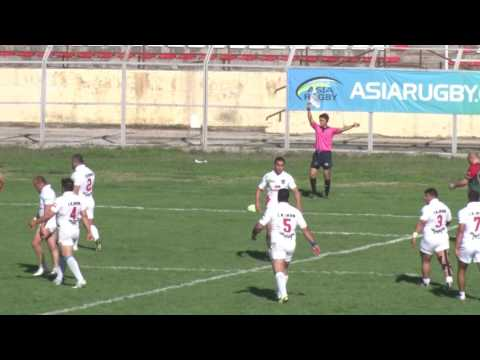 ARC 2017 - Lebanon Rugby v.s. Iran Rugby - 3/4 - 28/03/2017