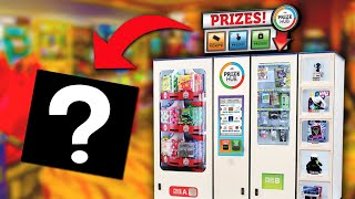 Spending 2,000 Arcade Tickets at the Prize Locker!