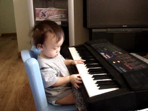 11-month baby music genius!!!!