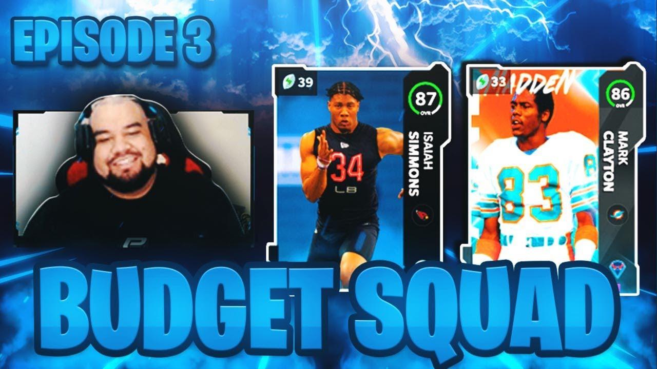 MAJOR UPGRADES FROM OUR REWARDS! | Budget Squad Episode 3 | Madden 21 Ultimate Team