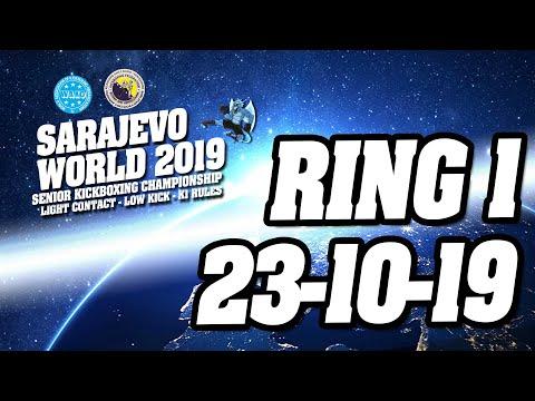 WAKO World Championships 2019 Ring 1 23/10/19