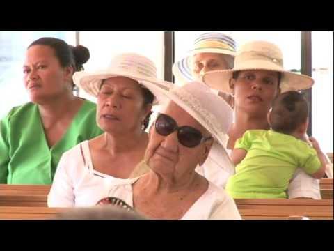 EFKS Fagamalo Savaii- Sauniga Lotu Afiafi 2015 Rev. Sileli Tauaifaiga