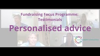 Testimonials: Personalised advice