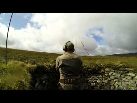 Driven Red Grouse Shooting at Coverhead 2013 Season