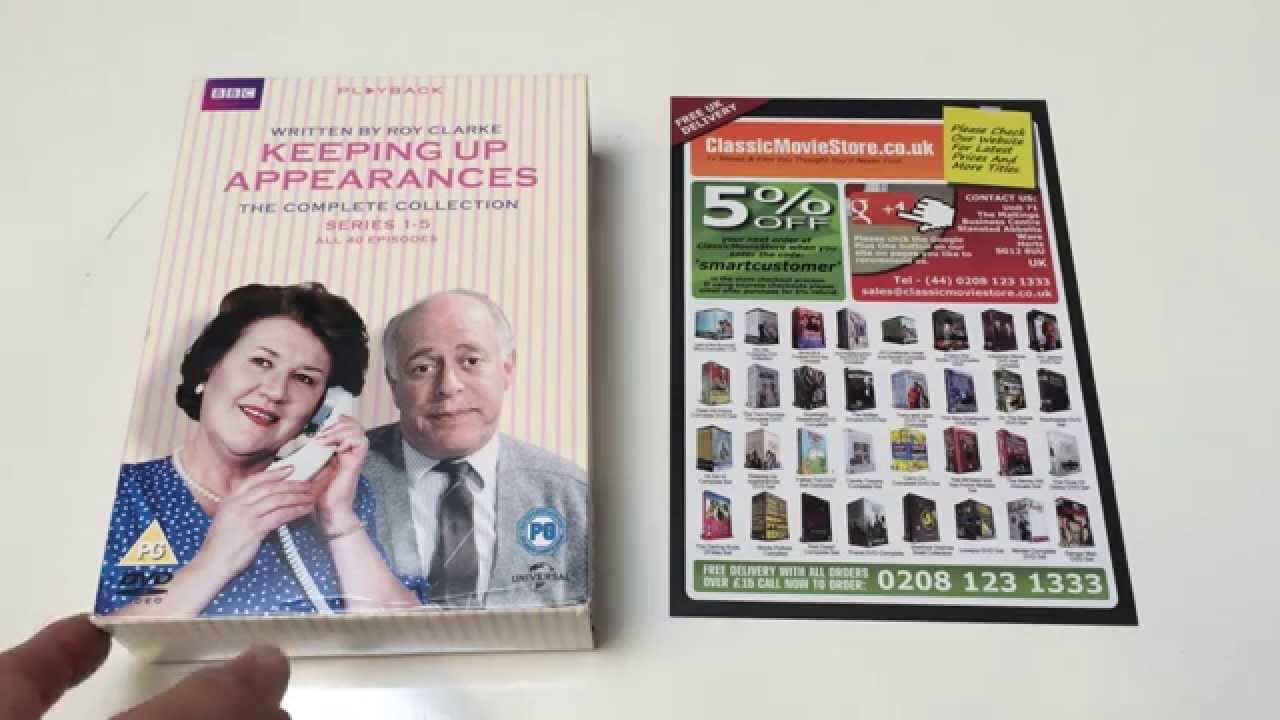 Keeping Up Appearances TV series DVD box set review