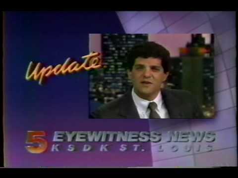 Weatherman Bob Richards - 1987