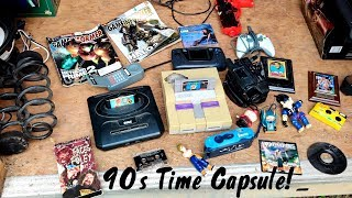 Opening a TIME CAPSULE from the 1990's! Nostalgic Goodness!