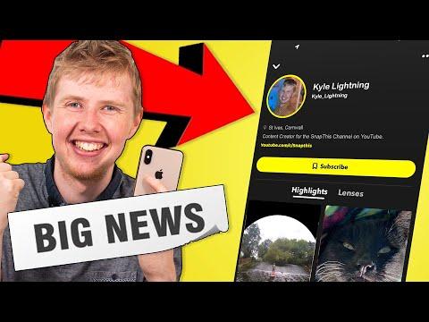 Getting the Public Snapchat Profiles (Upcoming Snapchat News) 🧐🤔