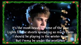 Mistletoe con letra justin bieber (lyrics on screen)