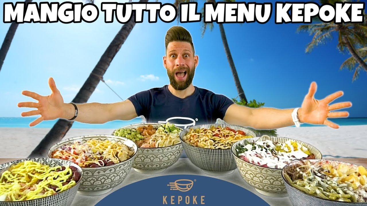 MANGIO TUTTO IL MENÙ POKE DI KEPOKE (4 KG) MAN VS FOOD