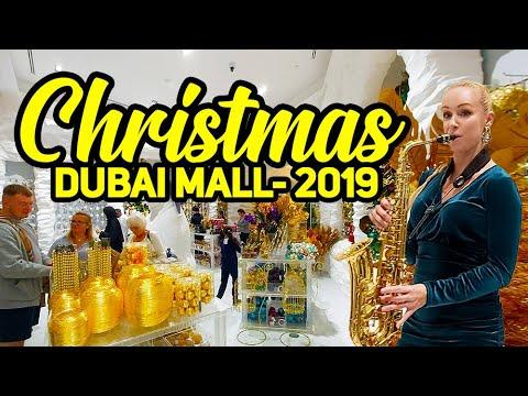 Christmas in Dubai | Christmas 2019 | Christmas Celebration | Christmas Celebration in Dubai mall