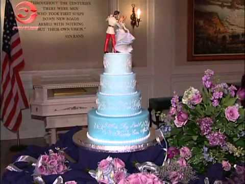 disney world wedding cake youtube. Black Bedroom Furniture Sets. Home Design Ideas