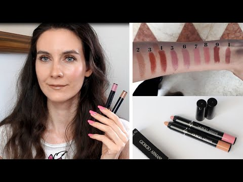 New ARMANI Color Sketcher Lips & Cheeks | Review & Swatches | Angela Van Rose