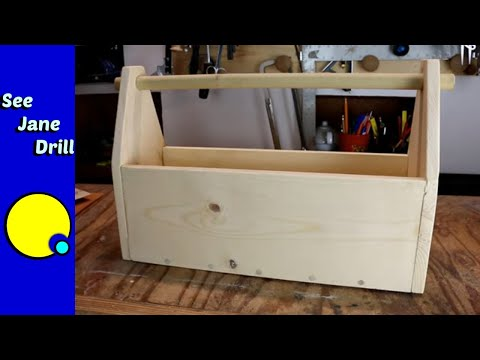 Build This Wooden Tool Box SIMPLE/EASY