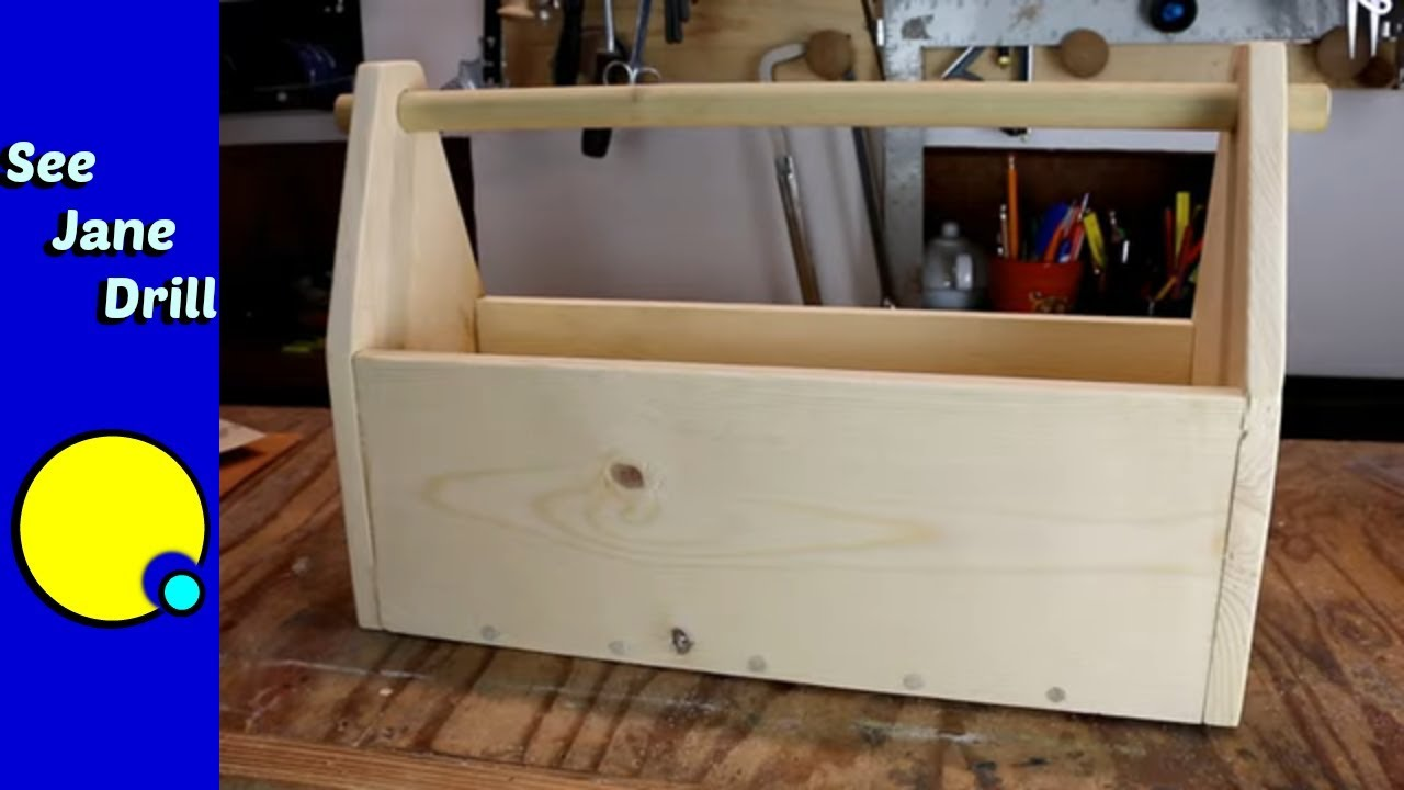 Download Build This Wooden Tool Box SIMPLE/EASY
