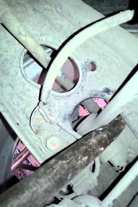 Замена заднего развального сайлентблока (продольный рычаг) BMW E36