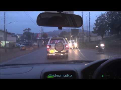 Kampala drive Bugolobi stagnant water