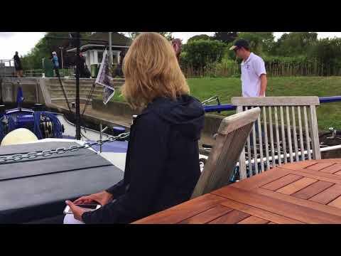 England Magna Carta Barge Trip Thames River 2 2 HD 720p