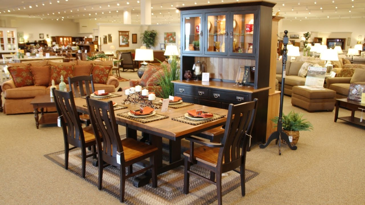 Store Walk Through   Country Lane Furniture