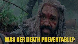 The Walking Dead Season 8 Discussion - Was The Kingdom Character Death Preventable?