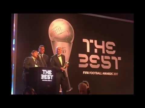 Cristiano Ronaldo wins Best FIFA Men's Player Award 2017