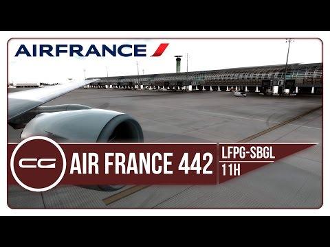 P3D v3.4   Uncovering Brazil Part 1: Arrival   LFPG (Paris CDG) - SBGL (Rio De Janerio)