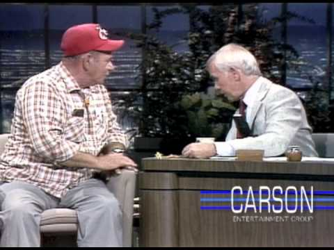 Johnny Carson interviews Frank Hill about his Quail Dropping Jewelry on the Tonight Show