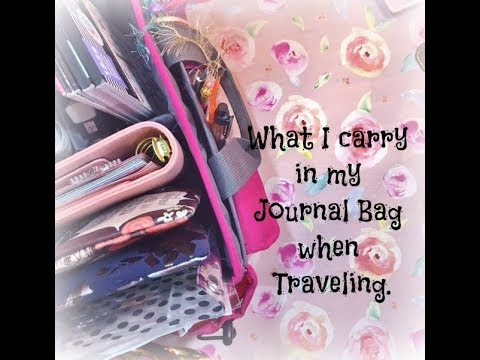 Traveling Journal Supplies