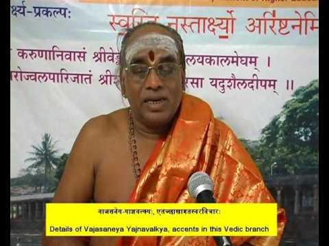 Part6 Vajasaneya Yajnavalkya, Accents in the Branch