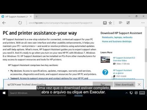 descargar hp support assistant para windows 7 en español