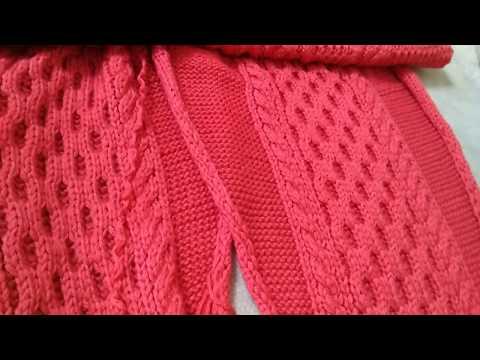 МК по вязанию очень простого, но симпатичного узора