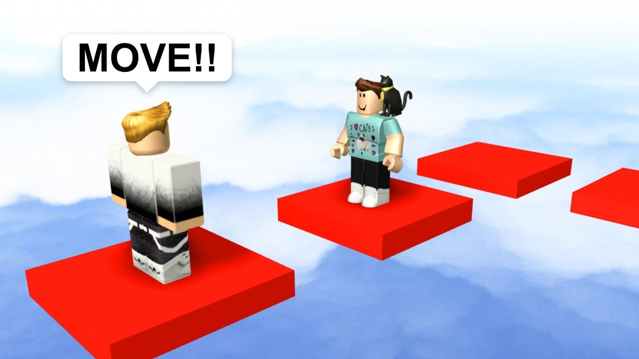 Trolling People In Roblox Obbies Youtube