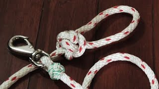 Make A Dog Leash Out Of Rope - Step By Step How To