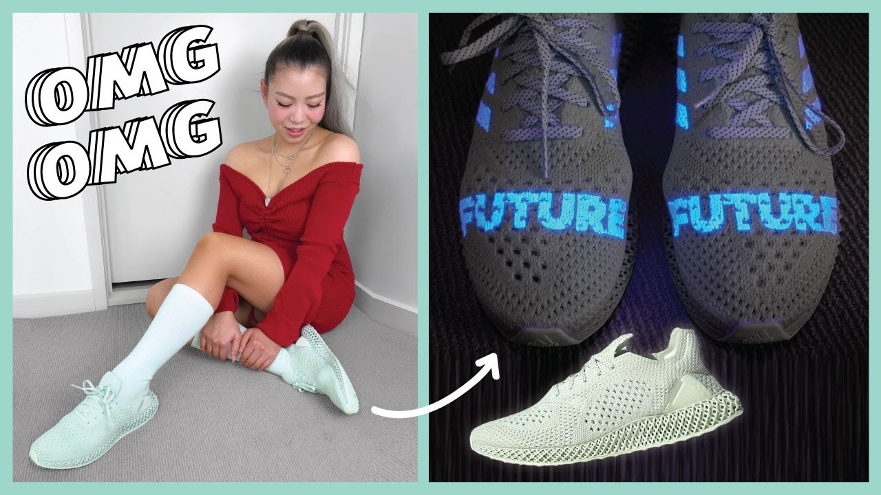 reputable site aacb7 7ddc1 Daniel Arsham x Adidas FUTURECRAFT 4D Unboxing + Review + On Feet