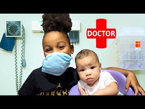 Doctor Cali Saves Baby Sister