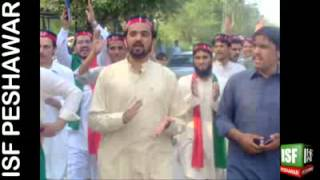 Musharraf Bangash Pashto New Song For Imran Khan (Pakistan Tehreek-e-Insaf)