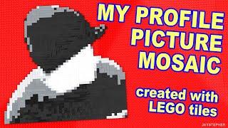 LEGO Self Portrait Mosaic