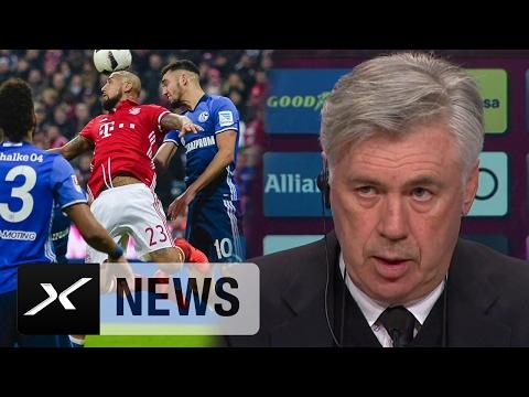 Carlo Ancelotti über Schalke, das Remis und Manuel Neuer | FC Bayern München - FC Schalke 04 1:1